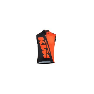 KTM Factory Team Renntrikot ärmellos schwarz/orange 2017